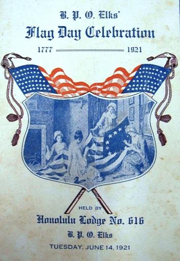 1921 Flag Day