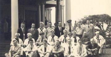 Lodge officers members 1942